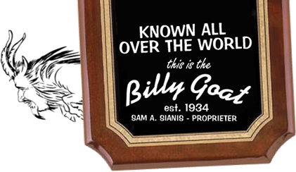 The World-Famous Billy Goat Tavern