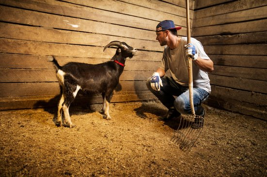 Kris Bryant prepares for the upcoming baseball season at a farm in New Orleans, LA, USA on 14 April, 2015.